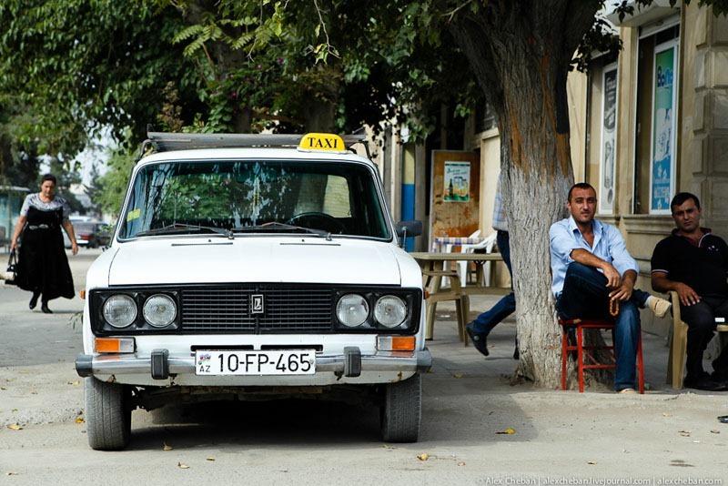 Азербайджанское такси.