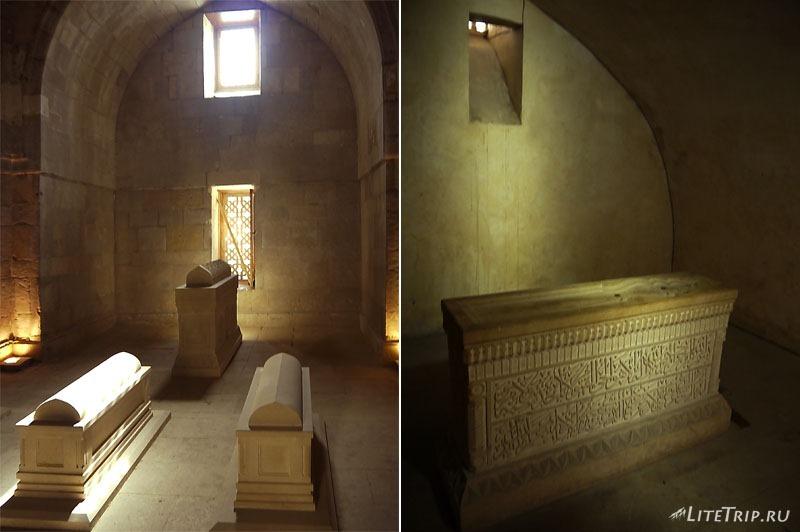 Азербайджан. Мавзолей дворца Ширваншахов.