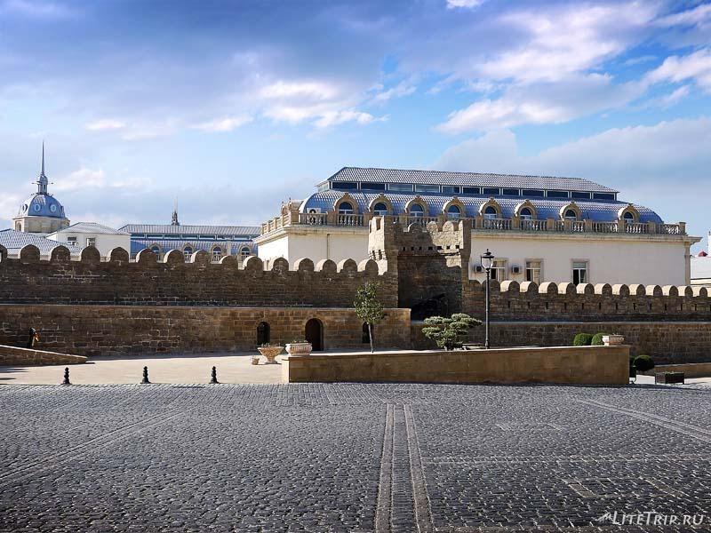 Азербайджан. Крепость Ичери-Шехер.
