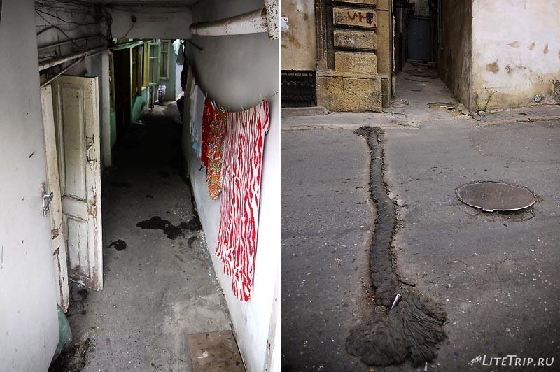 Азербайджан. Обратная сторона Баку.