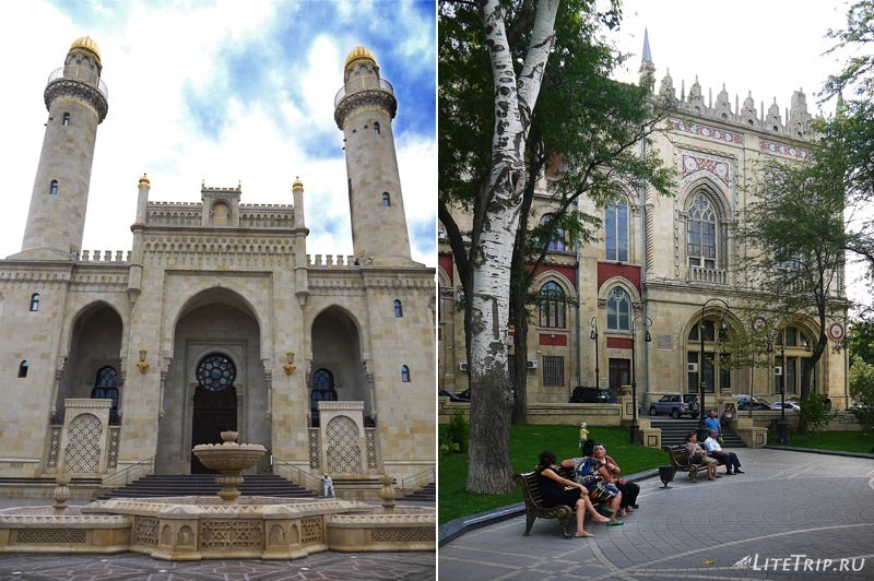 Азербайджан. Мечеть Тезепир в Баку.