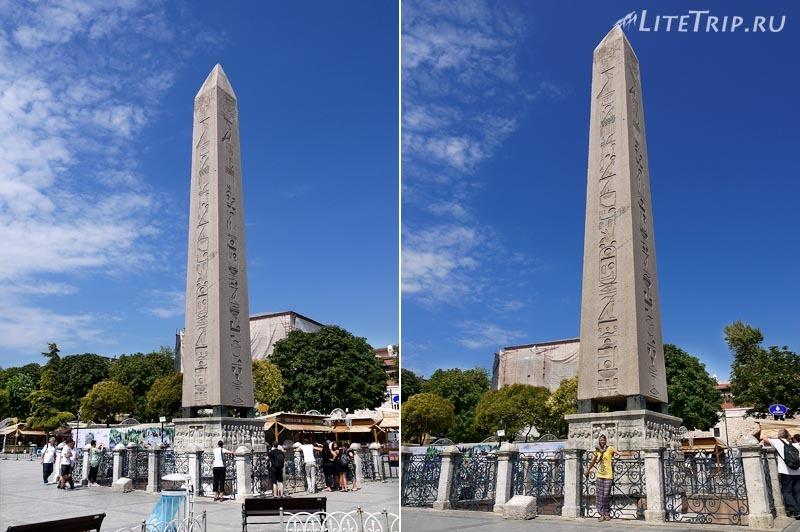 Турция. Ипподром в Стамбуле - Египетский обелиск.