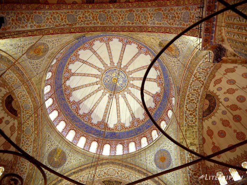 Турция. Голубая мечеть Султанахмет - купол.