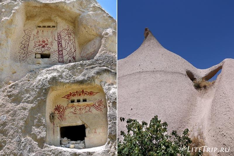 Турция. Пещеры в долине крепости.