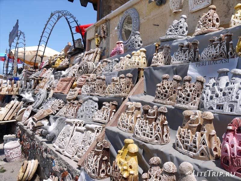 Турция. Крепость Учхисар - сувениры