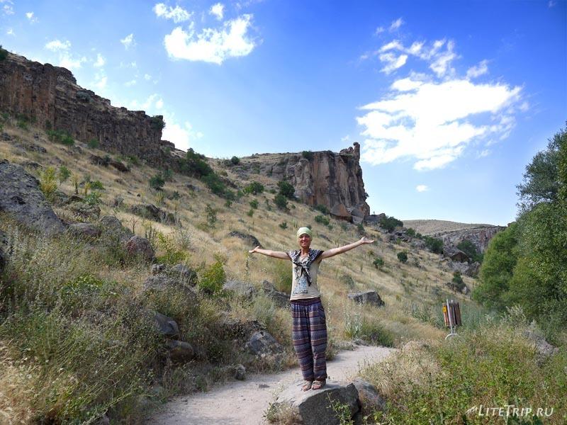 Турция. Гуляем по каньону Ихлара - Мила.