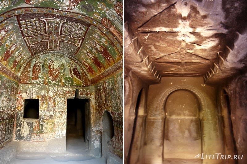Турция. Пещеры-церкви в долине Ихлара.