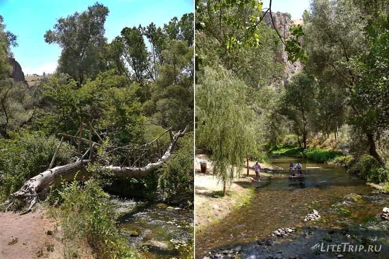Турция. Река-ручей в долине Ихлара.