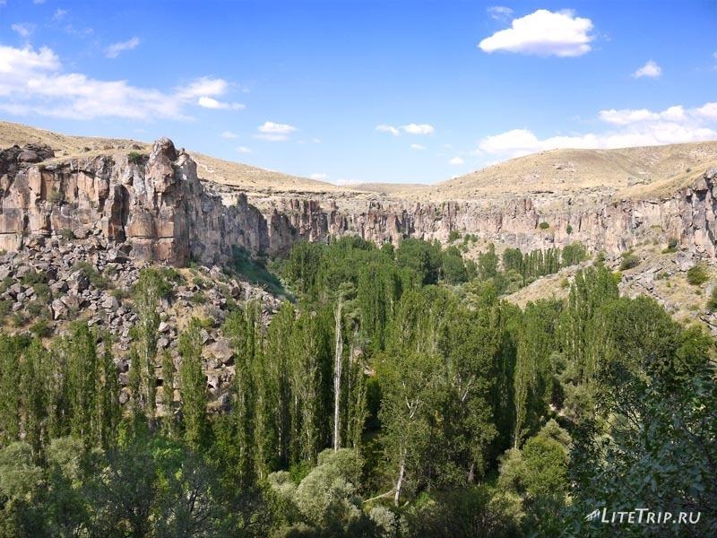 Турция. Вид на каньон Ихлара.