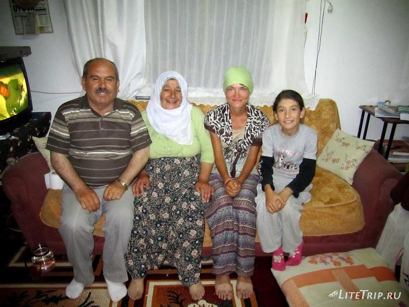 В гостях у турецкой семьи.