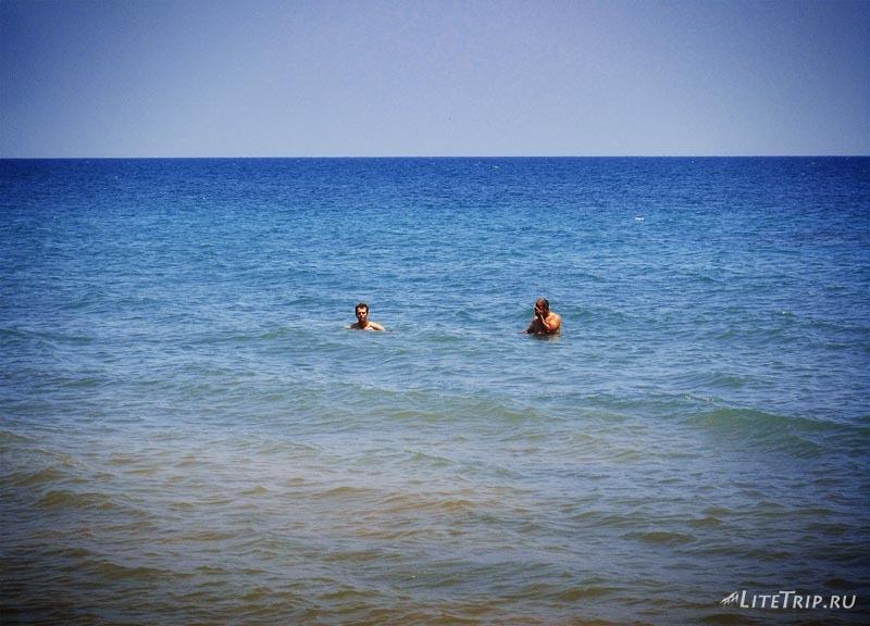Турция. Море в Мерсине.