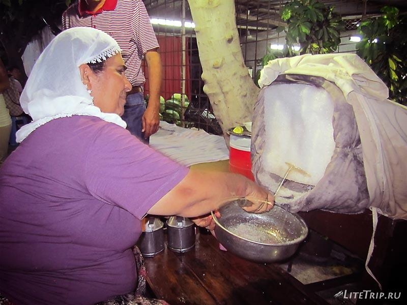 Турция. Снежный десерт в Тарсусе.