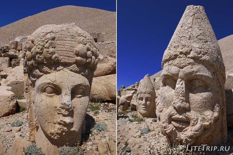 Турция. Немрут Даг - головы пантеона богов.