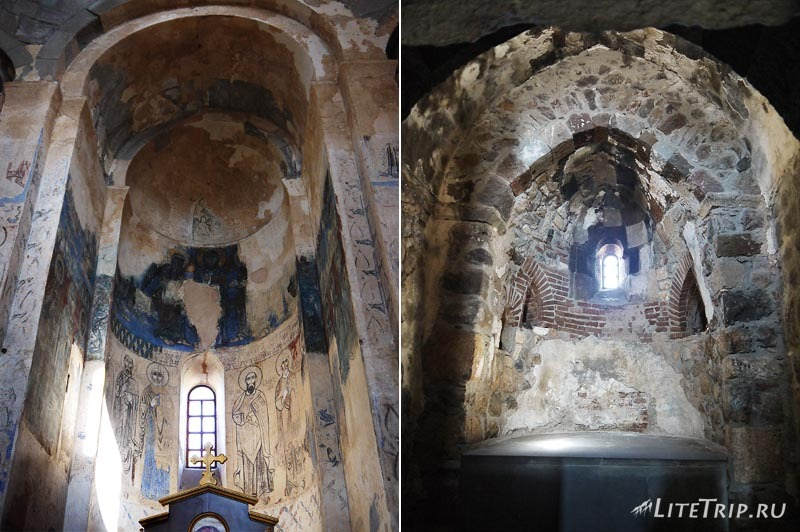 Турция. Армянская церковь на острове Ахтамар - внутри.