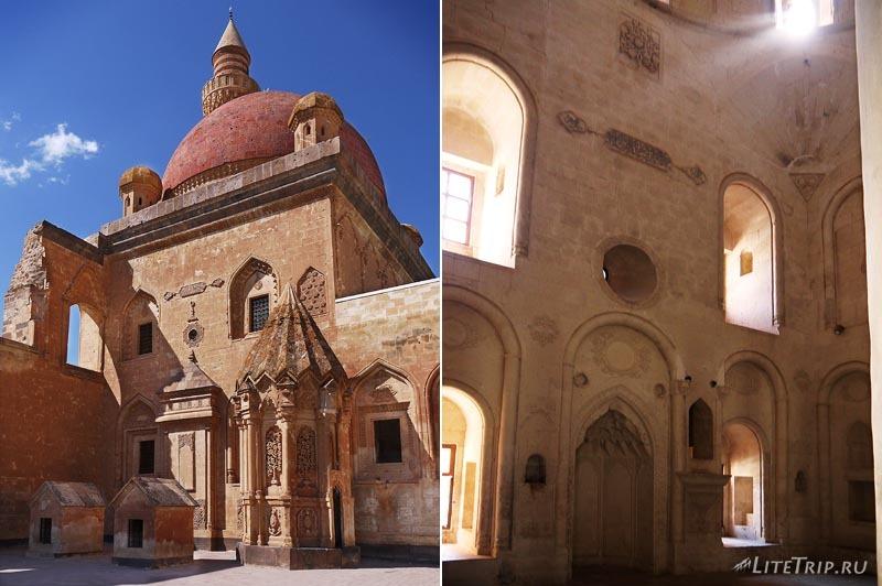 Турция. Дворец Исхак Паша - мечеть и мавзолей.
