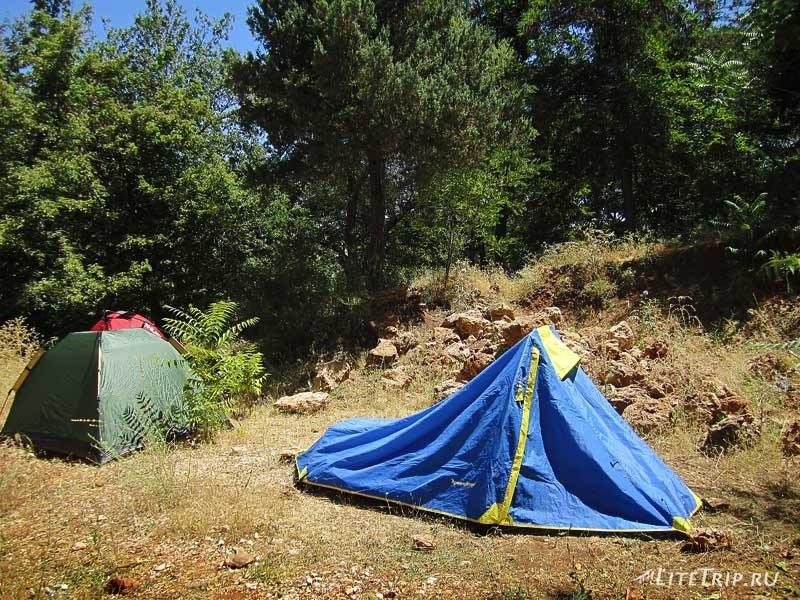 Турция. Палаточный лагерь в Тунджели.