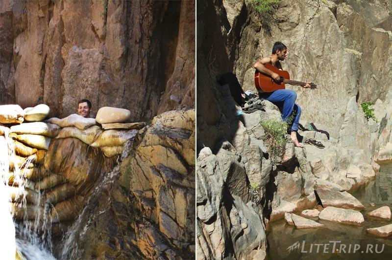 Турция. Теплые воды водопада и гитара в Тунджели.