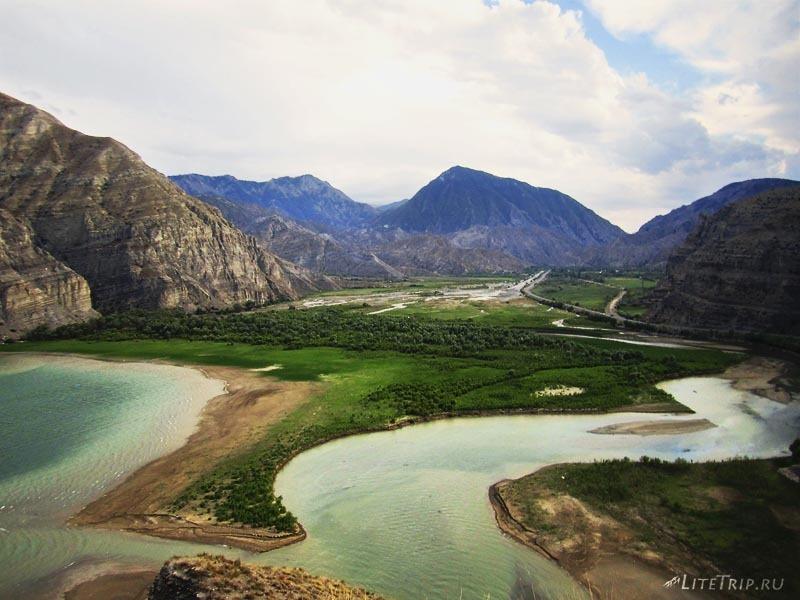 Турция. Долина озера Тортум Гёлю.