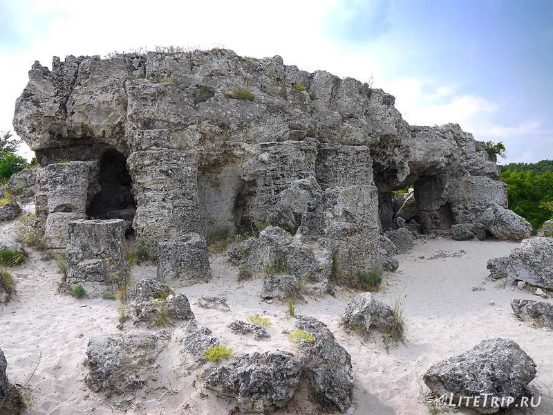 Болгария. Варна - Каменный лес. Пещера.