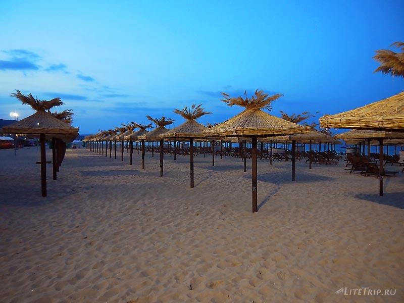 Болгария. Золотые Пески - пляж