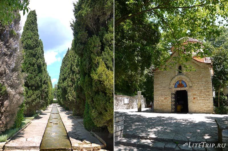 Болгария. Балчик - церковь в Ботаническом саду.
