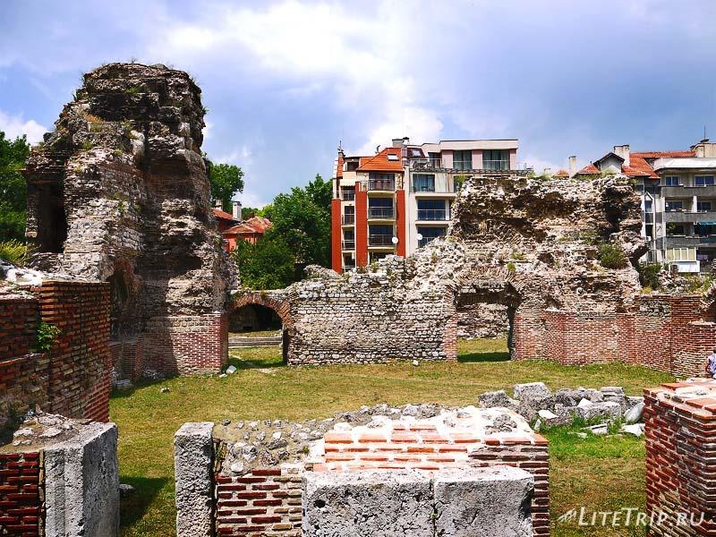 Болгария. Римские Термы в Варне.