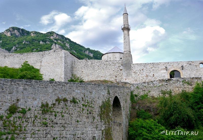 Босния и Герцеговина. ГКрепость в Травнике.