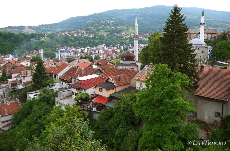 Босния и Герцеговина. Город Травник.