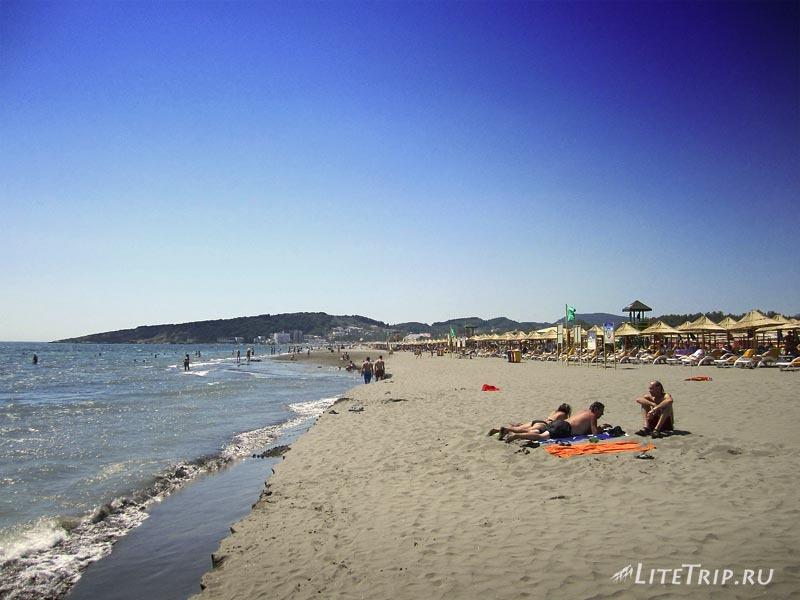 Черногория. Велика Плажа в Ульцине.