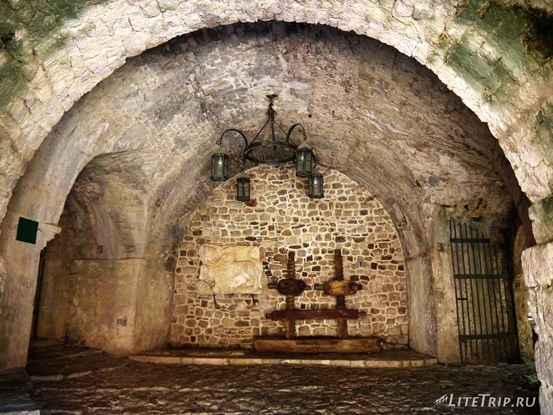 Черногория. Крепость старого Бара.