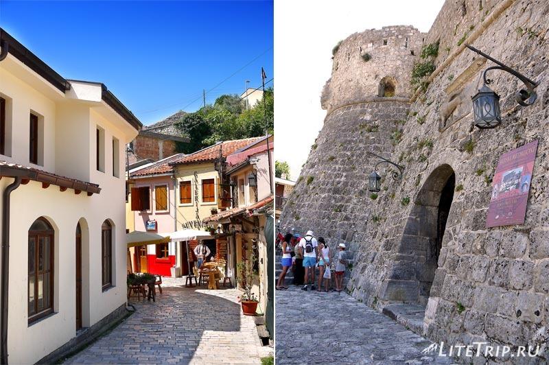 Черногория. Вход в Крепость старого Бара