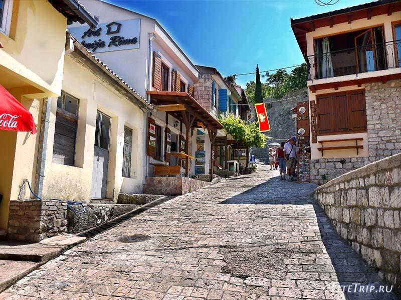 Черногория. Дорога к Крепости старого Бара
