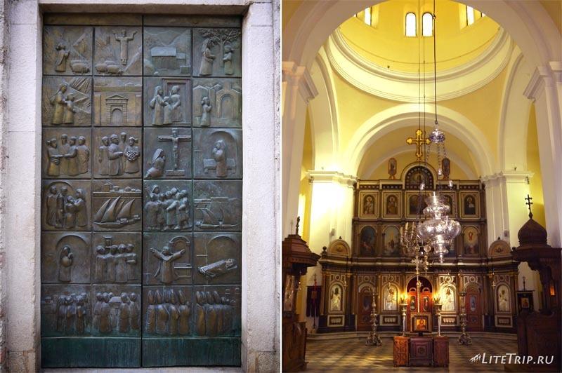 Черногория. Старый Котор - церковь.