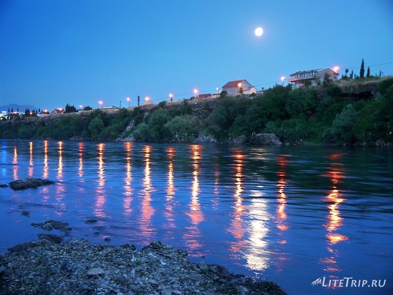 Черногория. Река в Подгорице.
