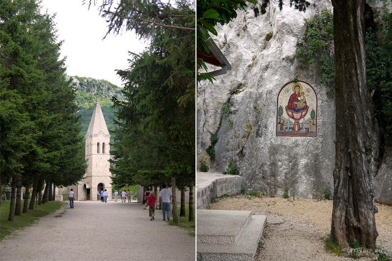 Черногория. Острог - нижняя церковь.