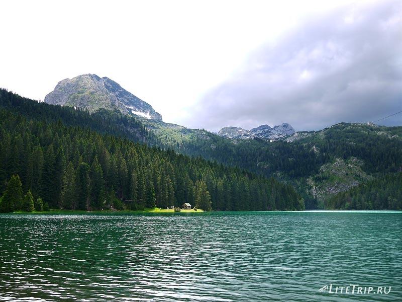 Черногория. Парк Дурмитор - канал между озерами.
