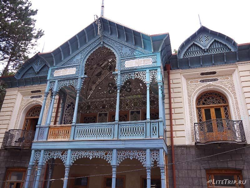 Грузия. Дом Мирза Риза хана в Баржоми.