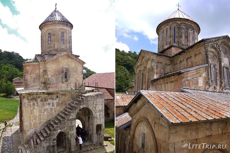Грузия. Монастырь Гелати.