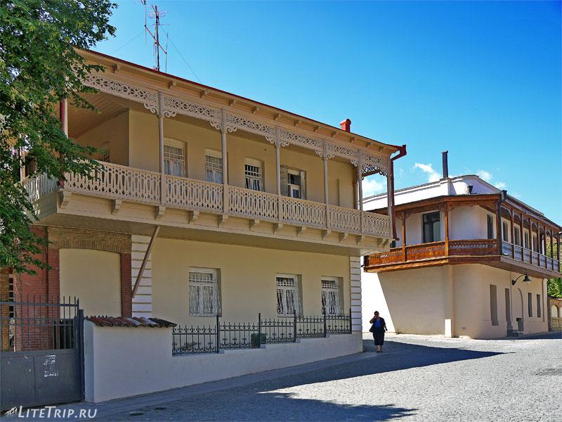 Старый город в Телави
