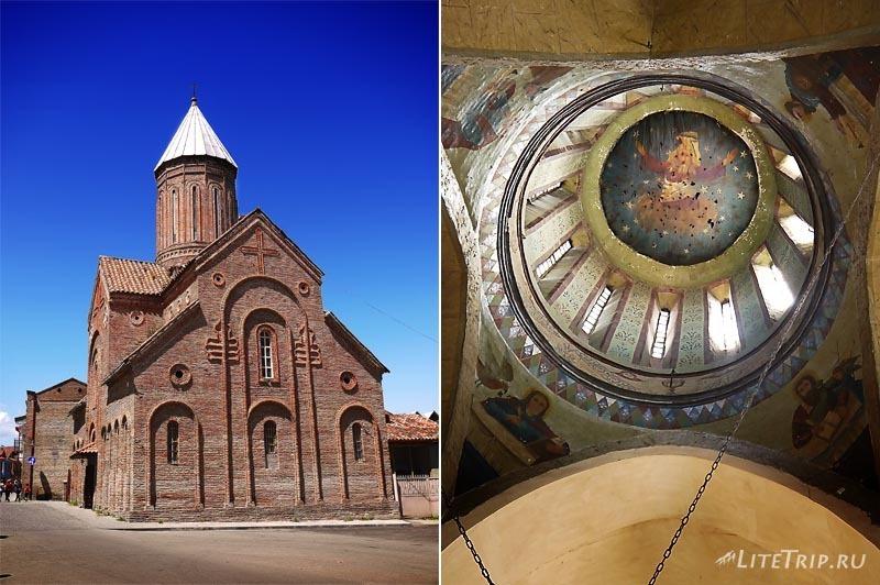 Грузия. Церковь в городе Телави.