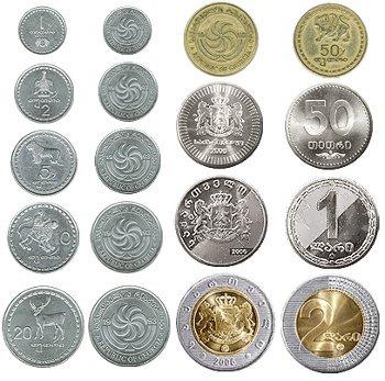 Грузия. Лари - монеты.
