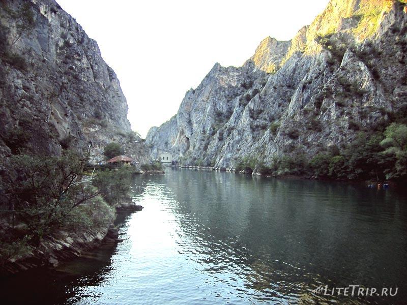 Македония. Каньон Матка - озеро.
