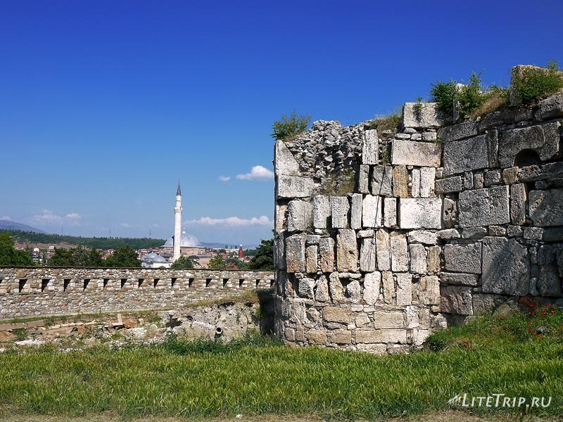 Македония. Закрытая крепость в Скопье