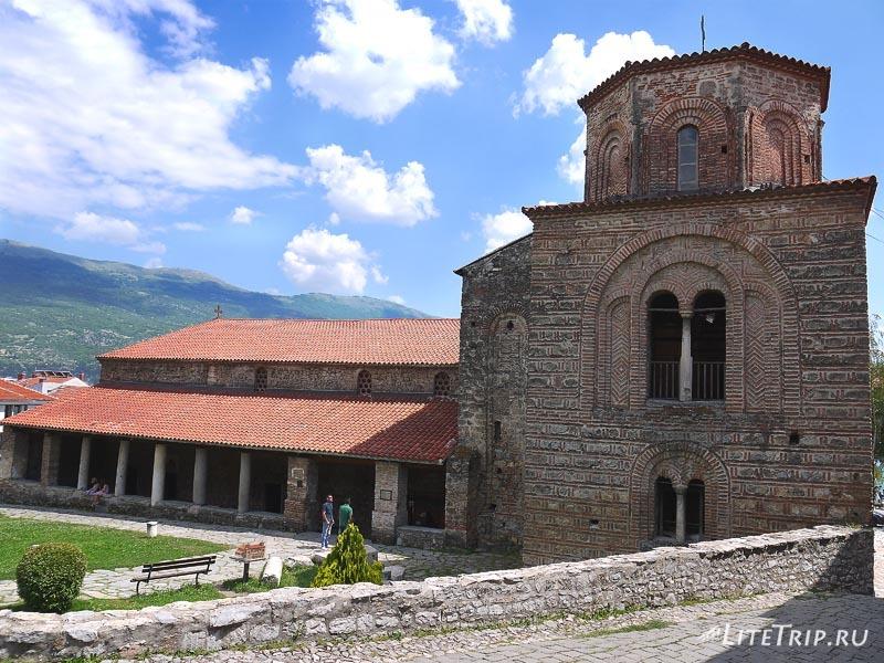 Македония. Церковь Свети Софии в Охриде.