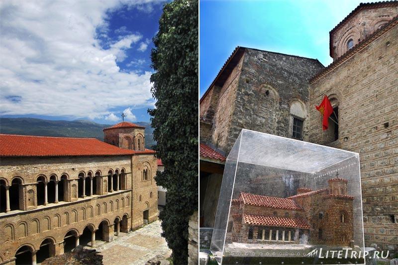 Македония. Церковь Свети София в Охриде.