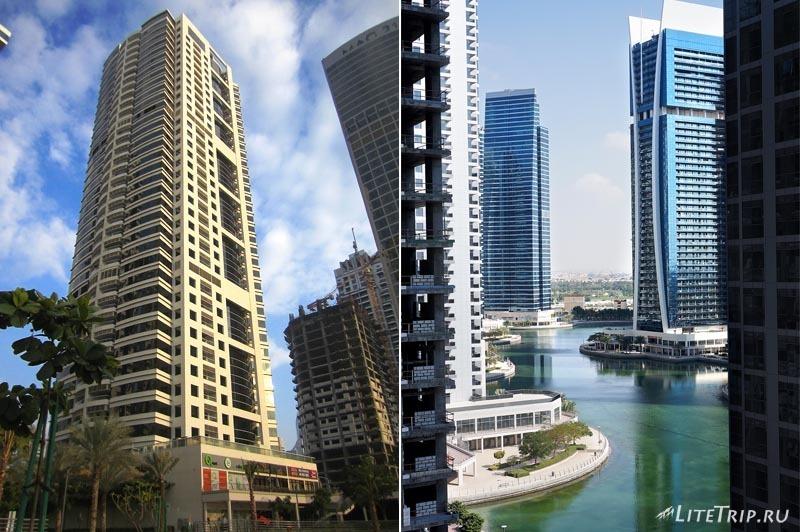 ОАЭ. Дубай Марина - дом, в котором мы остановились.