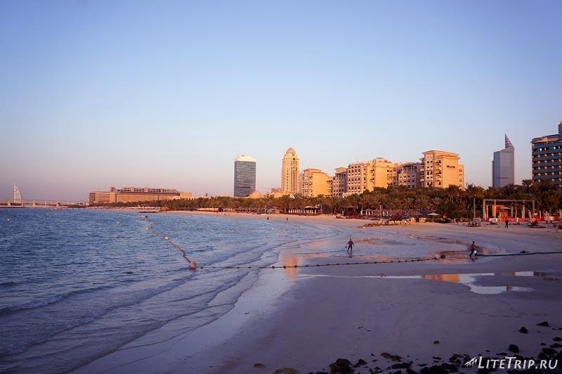 ОАЭ. Дубай Марина - побережье.