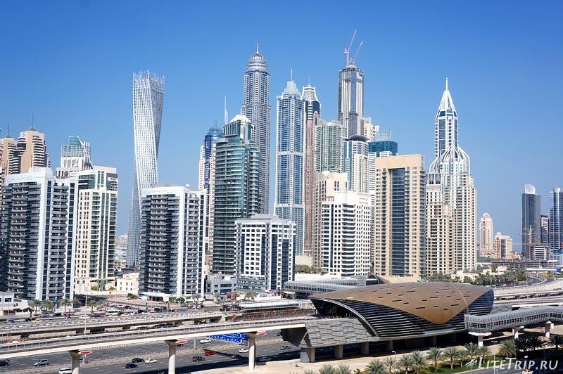 ОАЭ. Дубай Марина - вид из окна.
