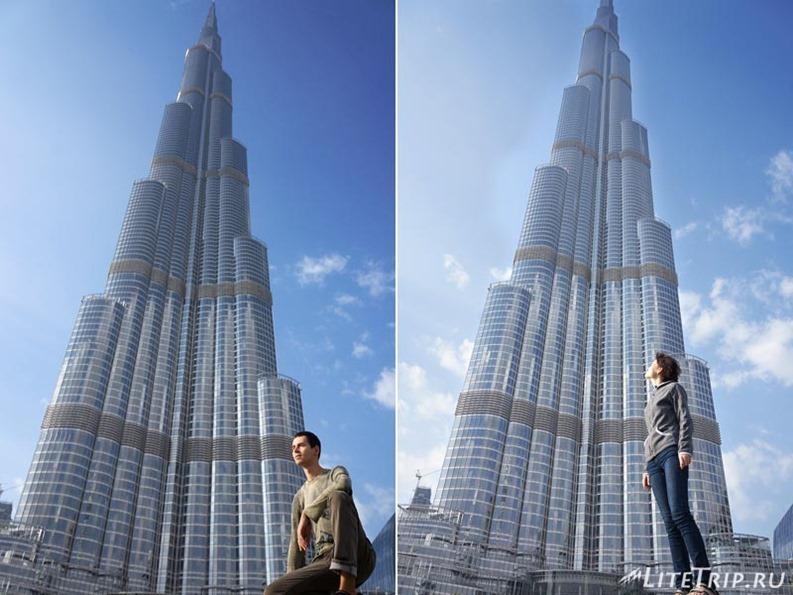 ОАЭ. Дубай. Бурдж Халифа.
