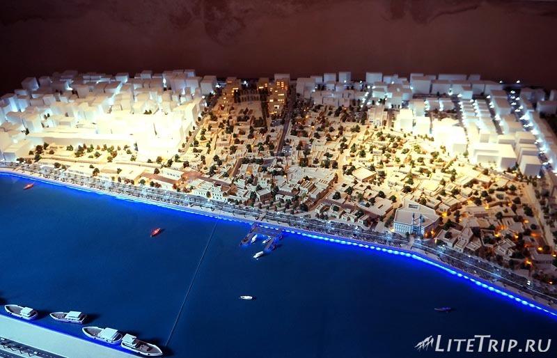 ОАЭ. Шарджа - план будущего города.